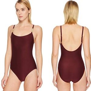 KATE SPADE Crescent Bay One-Piece w/ Bow Hardware